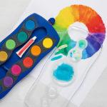 """Deckfarbkasten mit 12 Farben """"Blue"""""""