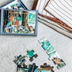 "24-tlg. Puzzle ""Mondlied"""