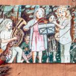 """15-tlg. Rahmenpuzzle Set """"Orchester"""""""