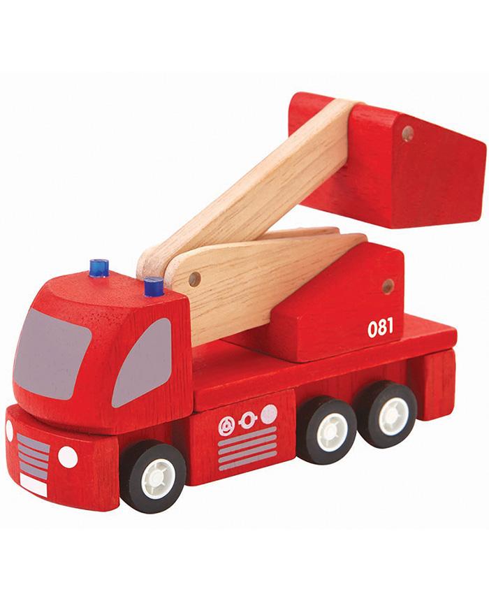 """Holz Spielzeug Feuerwehr """"Miniworld"""""""