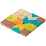 """Holz Mini Legespiel """"Mosaik"""""""