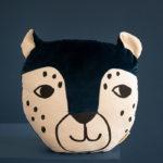 """Kissen """"Leopard"""" 32x35 cm"""