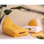 "Sitzsack ""Yellow Oasis"" 109x52 cm"