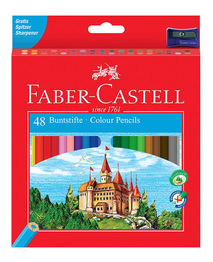 "48-tlg. Buntstifte Set ""Castle"""