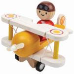 """Holz Spielzeug Flugzeug """"Miniworld"""""""