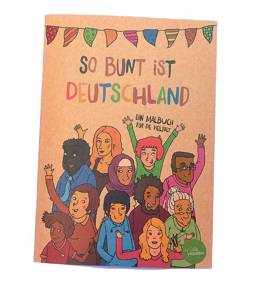 """Malbuch """"So bunt ist Deutschland"""""""