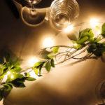 Draht Lichterkette, warmweiß, 20 LEDs, batteriebetrieben, inkl. Timer & Fernbedienung