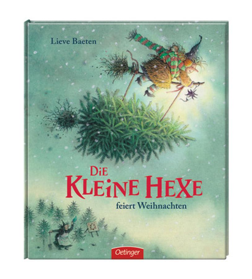 """""""Die kleine Hexe feiert Weihnachten"""" -Lieve Baeten"""