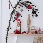 """4-tlg. Papier Weihnachtsbaumschmuck Set """"Ornamente"""" M"""