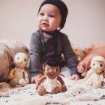 "Mini Bio Baumwoll Puppe ""Flora"""