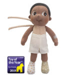 "Mini Bio Baumwoll Puppe ""Basil"""