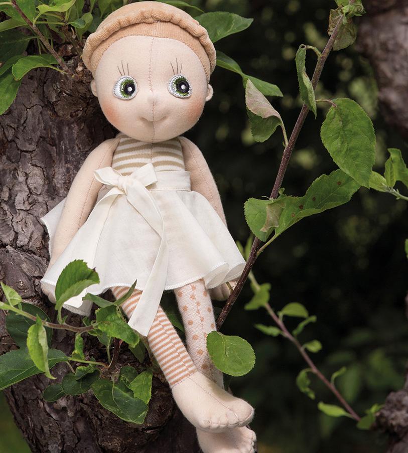 "Bio Baumwoll Puppe ""Hazel"""