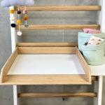 Heimholz Eiche Schreibtischmodul weiß
