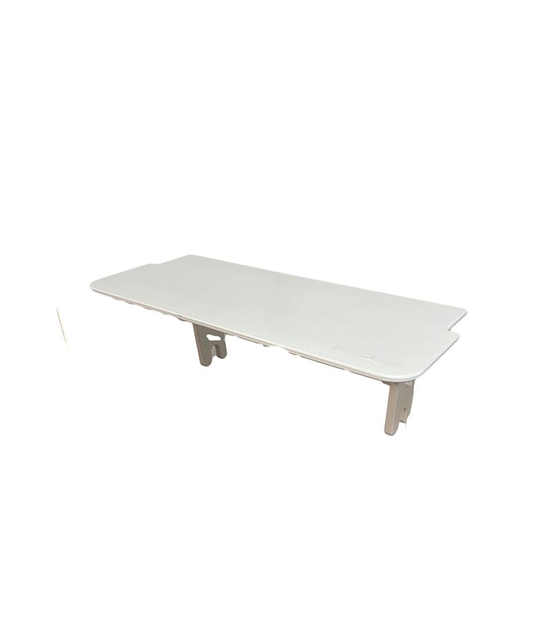 Heimholz Eiche Regal/Sitzbank – modul weiß