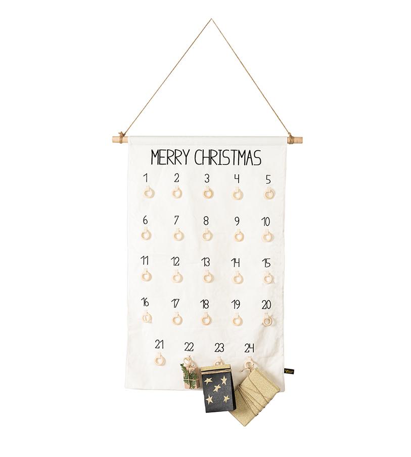 """Adventskalender """"Merry Christmas"""" zum Befüllen"""