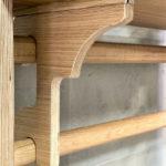 Heimholz Eiche Regal/Sitzbank - modul