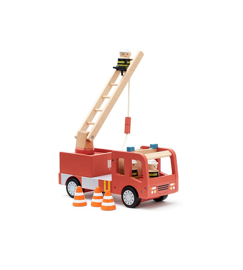 Holz Feuerwehrauto